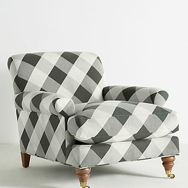 Anthropologie - Slide View: 2: Buffalo Check Willoughby Chair