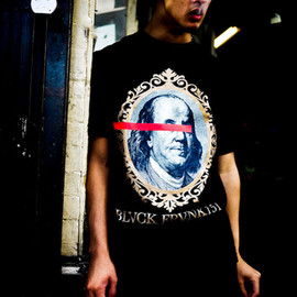 Black Scale, FRANK 151 - for Frank151 - Red Lines Dont Lie Tee