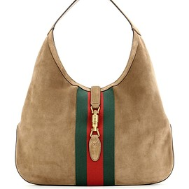 GUCCI - Resort 2016 Jackie suede hobo