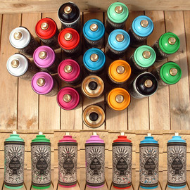 STATIC - Luxury Vandals - Spray Cans