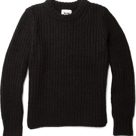 Acne - Helsinki Chunky Knit Wool-Blend Sweater