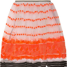 MARNI - Sequence Organza Skirt