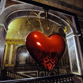 JEFF KOONS - HEART
