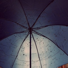Night Sky Umbrella