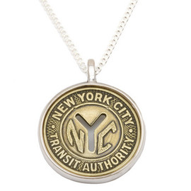Tokens & Icons - New York Transit Token Money Pendant with Packaging