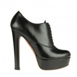 Azzedine Alaia - AW 11 Lace-up ankle boots