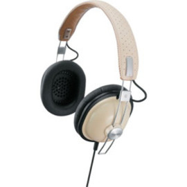 Panasonic - RP-HTX7-C Preppy Beige Stereo Headphone