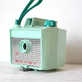 Savoy - Vintage Mint Green Imperial Camera