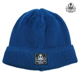 WORKING CLASS HEROES - COTTON KNIT WATCH CAP (BLUE)