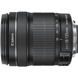 Canon - Canon EF-S18-135mm F3.5-5.6 IS STM