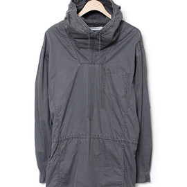 nonnative - HIKER HOODED SHIRT - COTTON TWILL