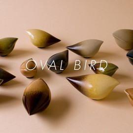 BIRDS' WORDS - OVAL BIRD