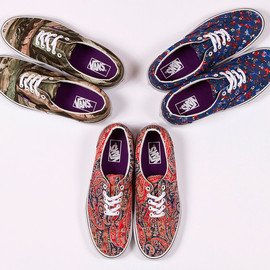 VANS - Liberty x Vans 2013 Summer Collection