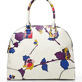 TORY BURCH - Multicolor Printed Robinson Dome Satchel
