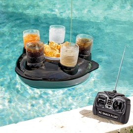 HomeWetBar.com - Remote Control Snack and Drink Pool Float
