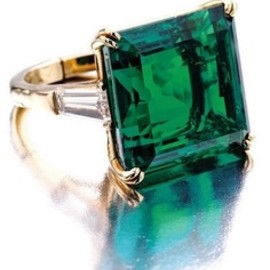 Van Cleef & Arpels - vintage emerald Ring
