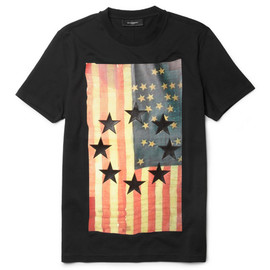GIVENCHY - Flag-Print T-Shirt