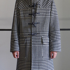 RAINMAKER KYOTO - DUFFLE COAT / GLEN CHECK