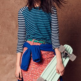 The Madewell Spring Catalog Is For The Flyest Girls At The Skate Park
