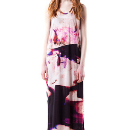 human potential - FOW1 RAYON LONG TANK DRESS