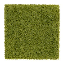 IKEA - HAMPEN Rug, high pile, bright green