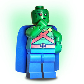 DC Comics, Lego - Martian Manhunter™ Minifigure