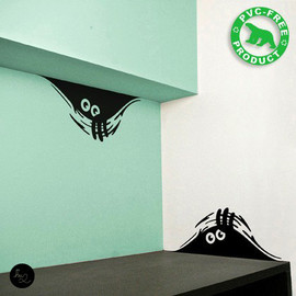 Hu2Design - Curious Monsters wall stickers