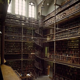 Massimo Listri - 'Rijksmuseum Library, Amsterdam, The Netherlands | World Libraries', 1994, CHROMA GALLERY