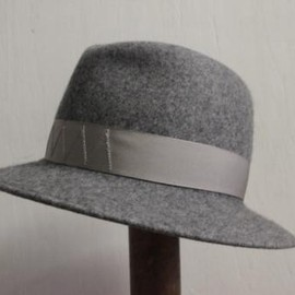 TAKAHIROMIYASHITA The SoloIst. - crusher hat. -gray.×gray.-