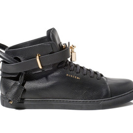 Buscemi - 100MM Mid Top - Black