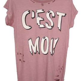 WILDFOX - C'est Moi Ripped Rock Tee