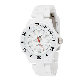 ice watch - Ice-Watch Women's CL.WE.S.P.09 Classic Collection White Plastic Watch