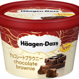 Haagen Daze - chocolate brownie
