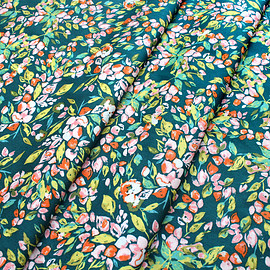Art Gallery Fabrics - Sage Bougainvillea Evergreen