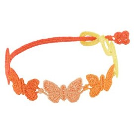 CRUCIANI - Lace Brecelet butterfly Orange
