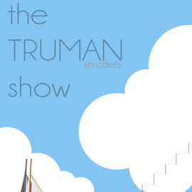 Yzabelle Wuthrich - Minimal Movie Posters (The Truman Show)