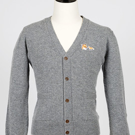 MAISON KITSUNÉ - Cashmere Cardigan for men