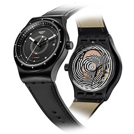 Swatch - SYSTEM51 - Black/Beige