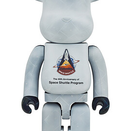 MEDICOM TOY - SPACE SHUTTLE BE@RBRICK 1000%
