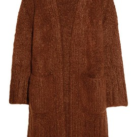 Chloé - Chunky-knit mohair, wool and cashmere-blend cardigan