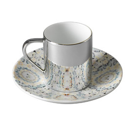 Damien HIrst - Virtue anamorphic cup and saucer