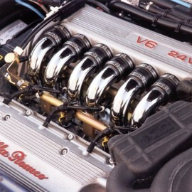 Alfa Romeo - V6 Engine