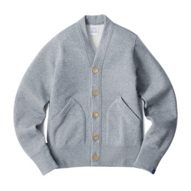 LOOPWHEELER - LW180 Light Cardigan 2012