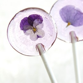 Pansy Flower Suckers...DIY