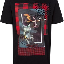 Dior Homme - collage print T-shirt