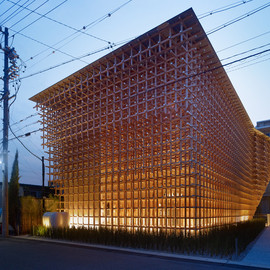 隈研吾建築都市設計事務所 - Prostho Museum Research Center, 2010, Kasugai-shi, Aichi Prefecture, Japan