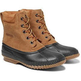 Sorel - Cheyanne Waterproof Suede and Rubber Boots