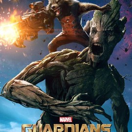 Guardians Of The Galaxy - Rocket & Groot character poster