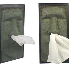 Retro 51 - Rudy - Tiki Head Tissue Box Cover
