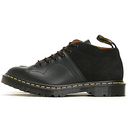 ENGINEERED GARMENTS - EG Special Church Lace Low Boot Suede Combo-BLK